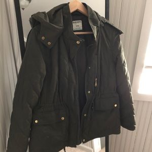 Old Navy Hunter Green Quilted coat